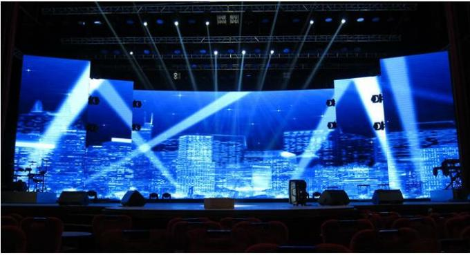 foldable soft flexible led curtain   concert led