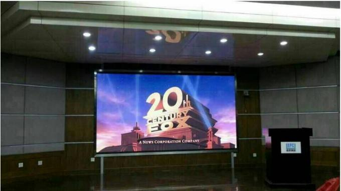 Advertising LED Video Wall Rental with 1/16 Scan / Constant