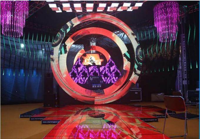 Round Circle Led Display Full Color Weather Proof Led