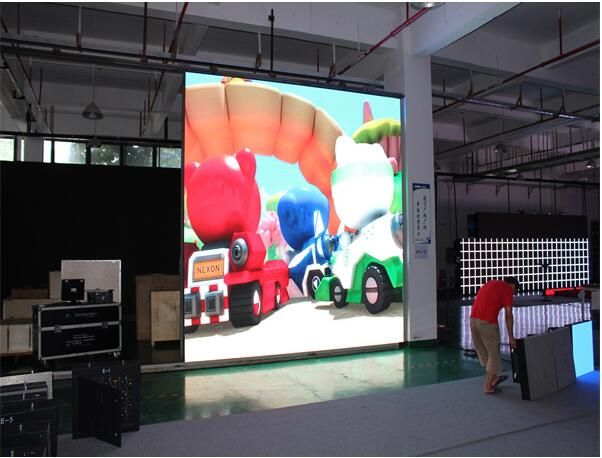 IP65 High Brightness SMD 3 in 1 Outdoor Rental LED Display DIP P8 RGB 3535