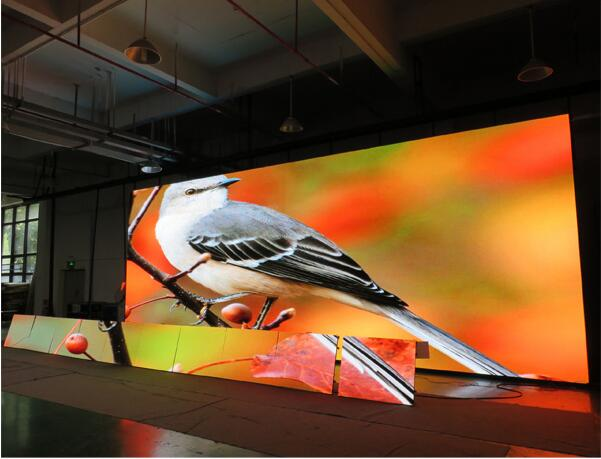 HD Video SMD 5050 LED Screen Rentals with Constant Current Drive High Brightness