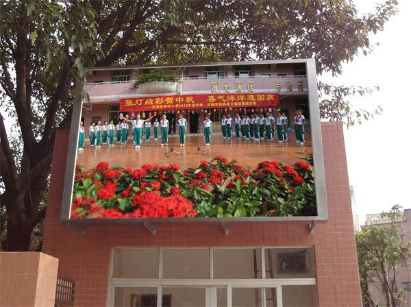 P6 P8 P10 Full Color Large LED Screen Electronic for Video Advertising High Resolution