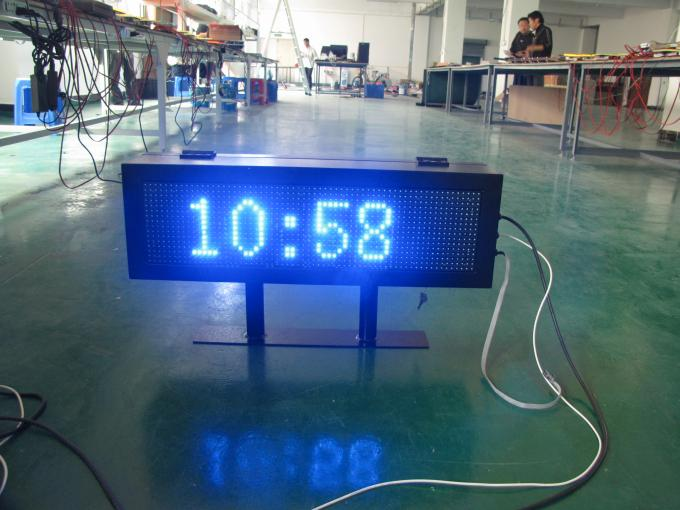 5000cd / ㎡ Brightness led price signs for gas stations , IP 65 16