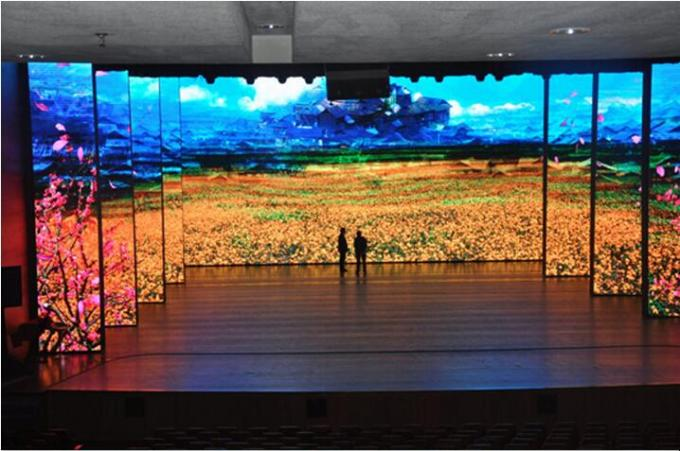 Mbi5024 Driver Ic Led Video Walls 5mm Pixel Pitch Indoor