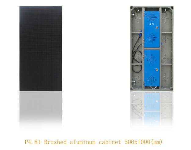 Pixel Pitch 4.81mm Rental LED Display 1/8 Scanning P5.95 P6.25