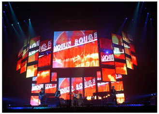 China Energy Saving Full Color Indoor LED Video Wall Rental for Stage Background supplier
