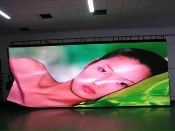 China Foldable Soft Flexible LED Curtain , Concert LED Transparent Flexible Display SMD 5050 HD supplier