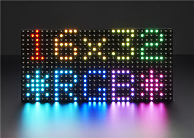China Adjustable 3528 SMD Full Color LED Display Module Indoor Dot Matrix 32 * 16 supplier