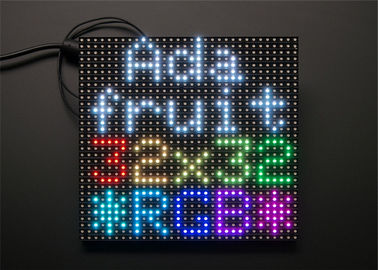 China 32 x 32 RGB 3 in 1 LED Display Module High Resolution Brightness Matrix Panel Pitch 5mm supplier
