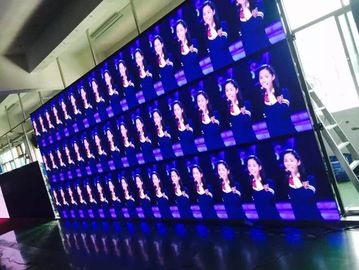 Indoor Rental LED Display Curtain Video Advertising And Stage Performence 500mm X 1000mm