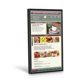 49 Inch Video Wall Mount LCD Display Plug In Play 178° Viewing Angle Kiosk Touch Screen