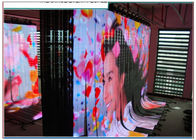 China P6 Flexible LED Curtain SMD3528 , Rental Flexible Video Display High Resolution factory