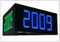 "China 5000cd / ㎡ Brightness led price signs for gas stations , IP 65 16"" DIY LED Sign Board factory"