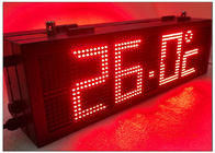 China RS485 LED Gas Station Sign with Static State Display Dot Front Side Maintenance factory
