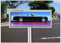 China Advertising Transparent LED Screen , CE 16mm Pitch Pixel Electronic Display Board factory