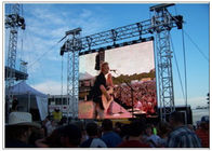 China LED Outdoor Screen Hire for Stage , Commercial P10 P16 P8 Rent Video Wall Displays factory