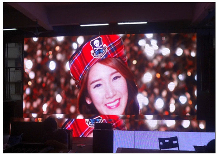 3.91 Pixel Rental LED Display Die Casting Indoor High Contrast with Large Viewing Angle