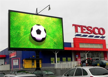 DIP Full Color LED Display Screen for Commercial Advertising / Vedio / Picture