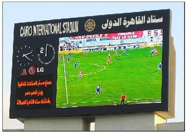 China Mutil Color 8500 CD Brightness Football Stadium Screen , Commercial Panel Display Systems distributor