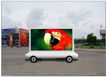 China 8000nits Brightness Truck Advertising Taxi LED Display 10000 pixels with Multimedia Control System distributor