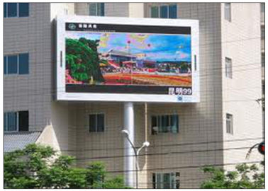 China Commercial Advertising LED Video Walls Programmable Full Color with -20 - 50°C Working Temperature distributor