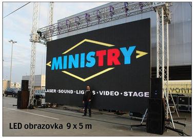 China DVI VGA Rental LED Display Full Color Outdoor Ultra Slim for Video Advertising IP67 distributor