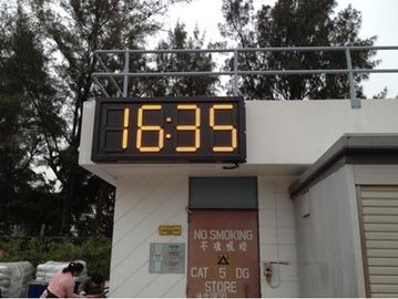 China Large outdoor led gas station price sign waterproof For 4 and 5 digit formats , custom size distributor