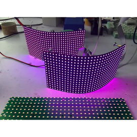 China P8mm Flexible Led Screen Smd Module / Video Creative Background Foldable Led Display distributor