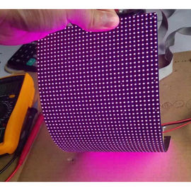 China IP45 P4mm RGB flexible led video screen , flexible wall panels Cree Chip distributor